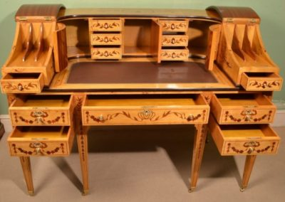 00704-carlton-house-style-inlaid-satinwood-writing-desk-4