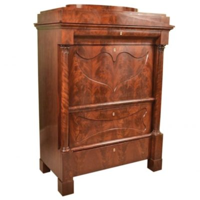 Antique Biedermeier German Secretaire Chest c.1830