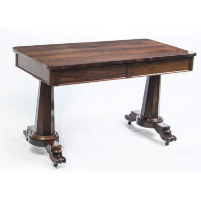 William IV Rosewood Antique Sofa Table or Writing Table c.1830