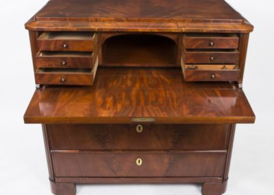 07197-antique-biedermeier-flame-mahogany-secretaire-chest-c-1820-11