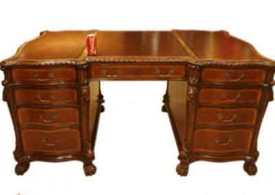 00179-superb-6ft-flame-mahogany-lion-s-head-partner-s-desk-10