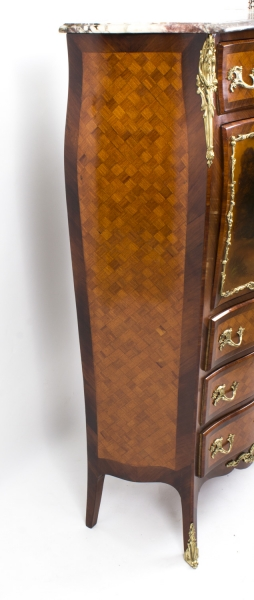 07786-Antique-French-Vernis-Martin-&-Parquetry-Secretaire-C1880-15