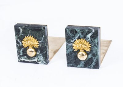 07944-Attractive-Pair-Grenadier-Guards-Breccia-Marble-Bookends-1