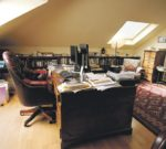 Writers Desks Clive James