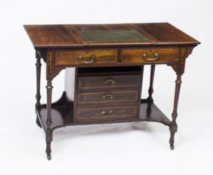 Antique Edwardian Writing Table