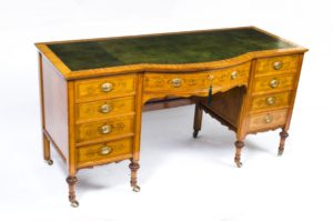 Antique Sheraton Desk Edwardian