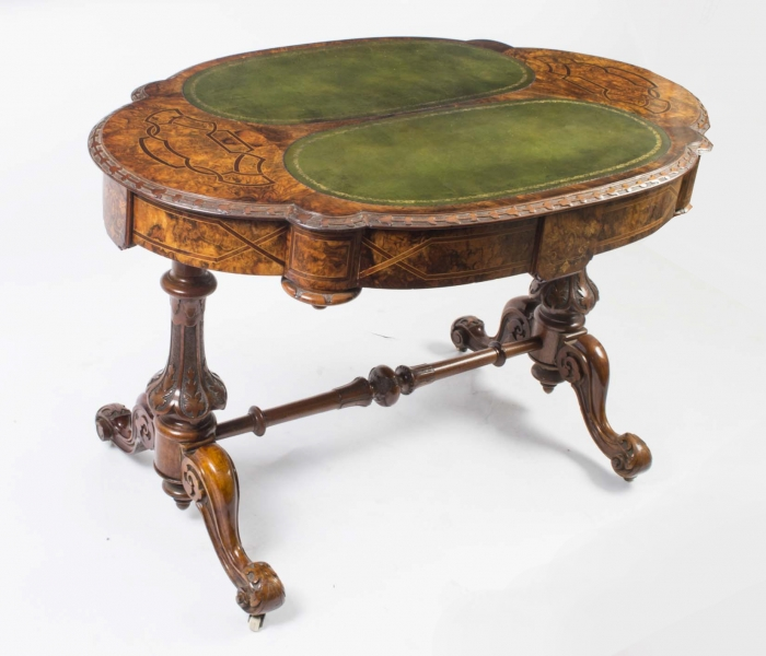 Antique Victorian Writing Table