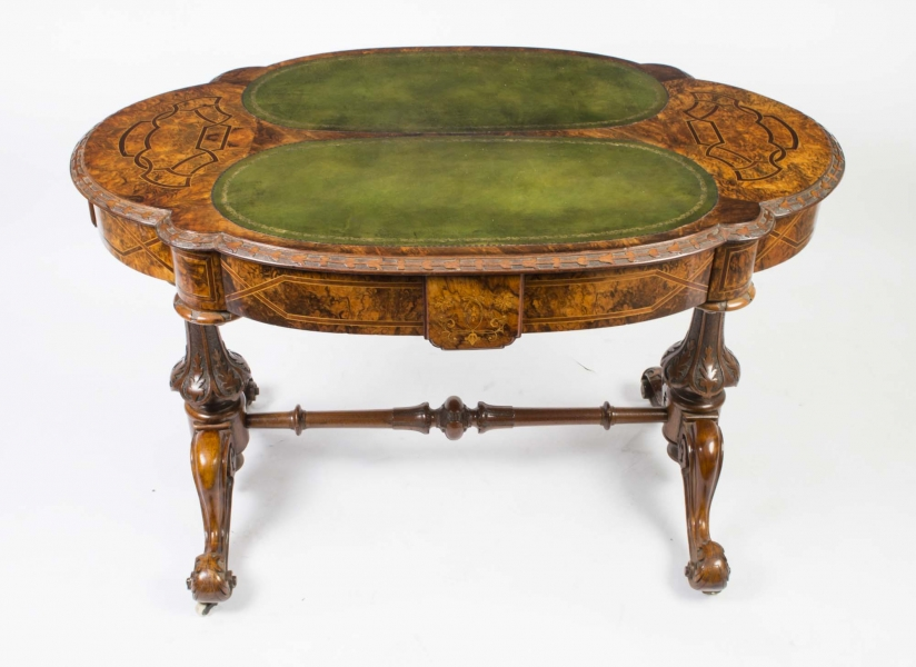 Antique Victorian Writing Table c.1880 – Price £3,450